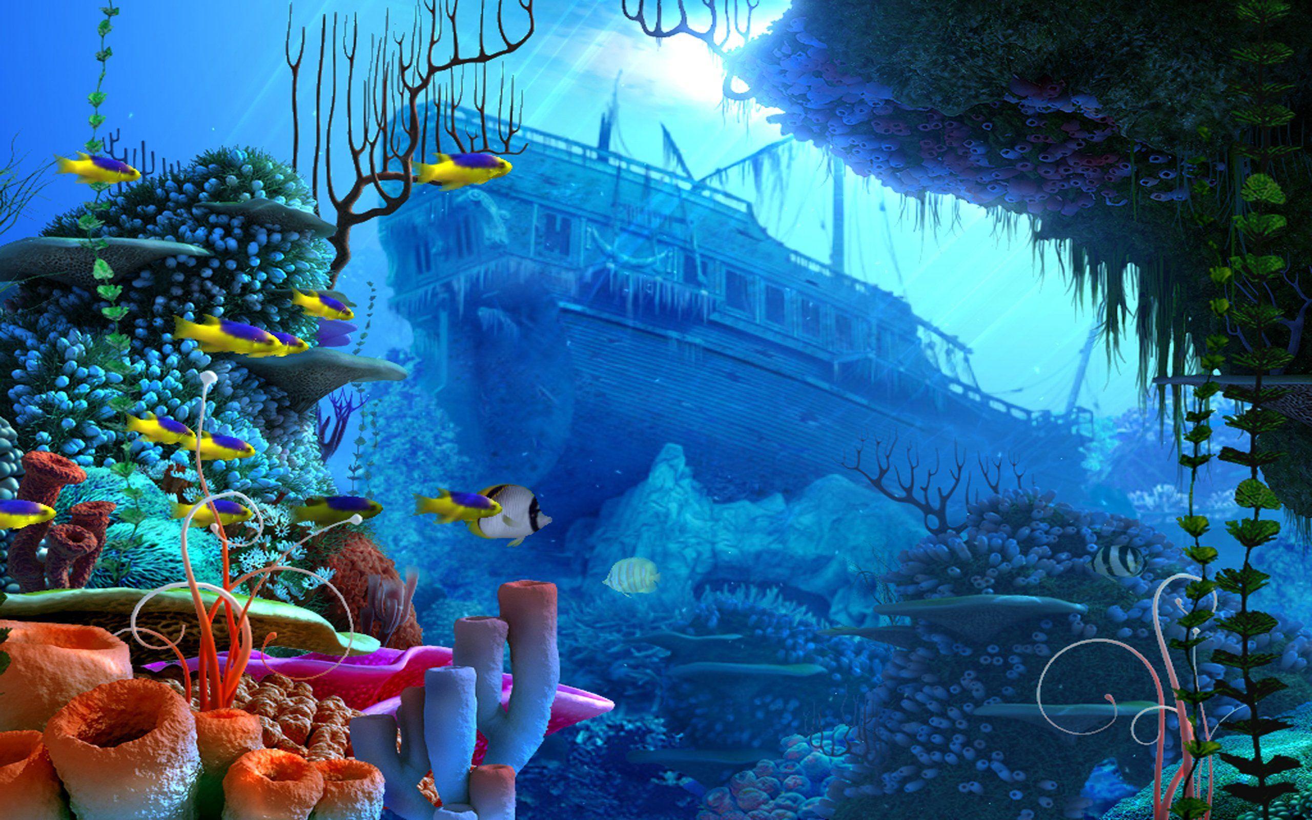 Underwater Reef Wallpaper For Android #GWS | Underwater ...