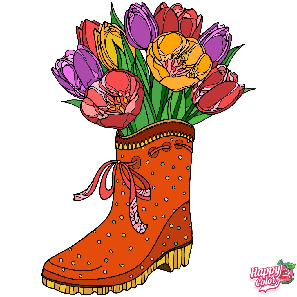 Pin by Brenda on Colored images from adult coloring