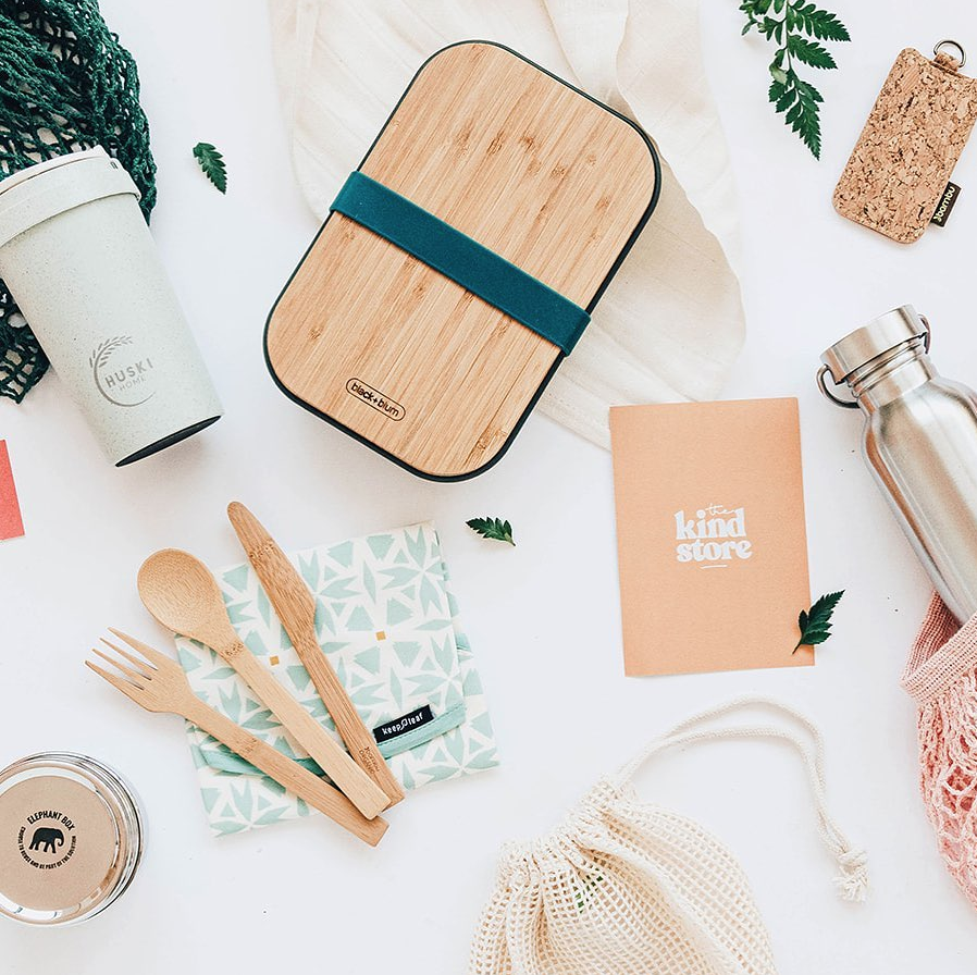 The Kind Store Sustainable Beauty Branding Green
