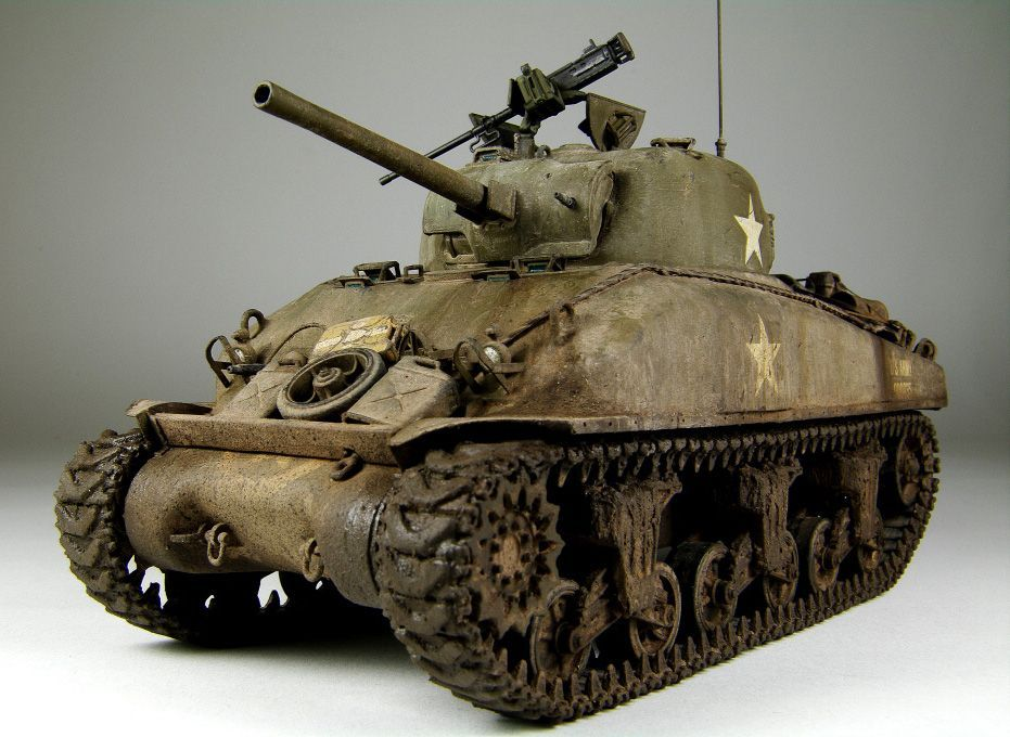 Sherman | 1:35 scale | Tanks | Model tanks, Scale models