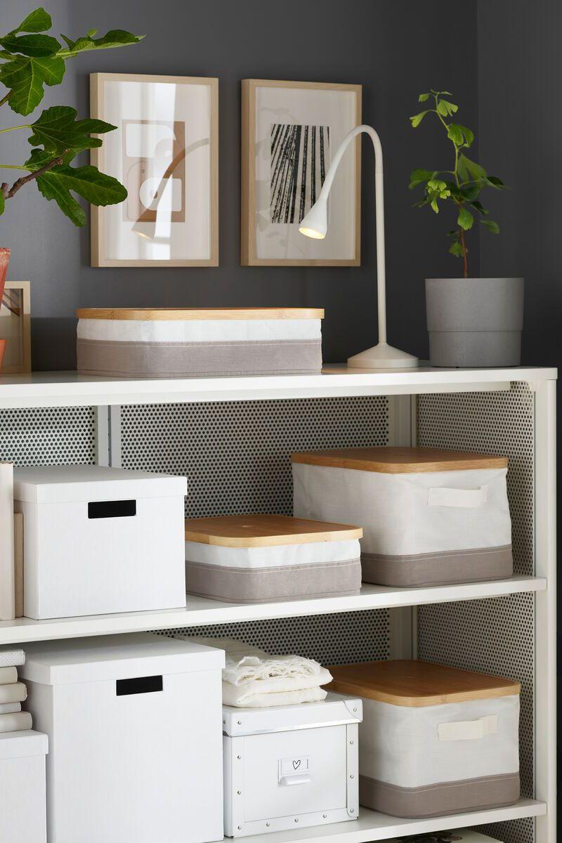 Rabbla Kasten Mit Deckel Ikea Deutschland Aufbewahrungsbox Mit Deckel Ikea Ideen Dekorative Aufbewahrungsboxen