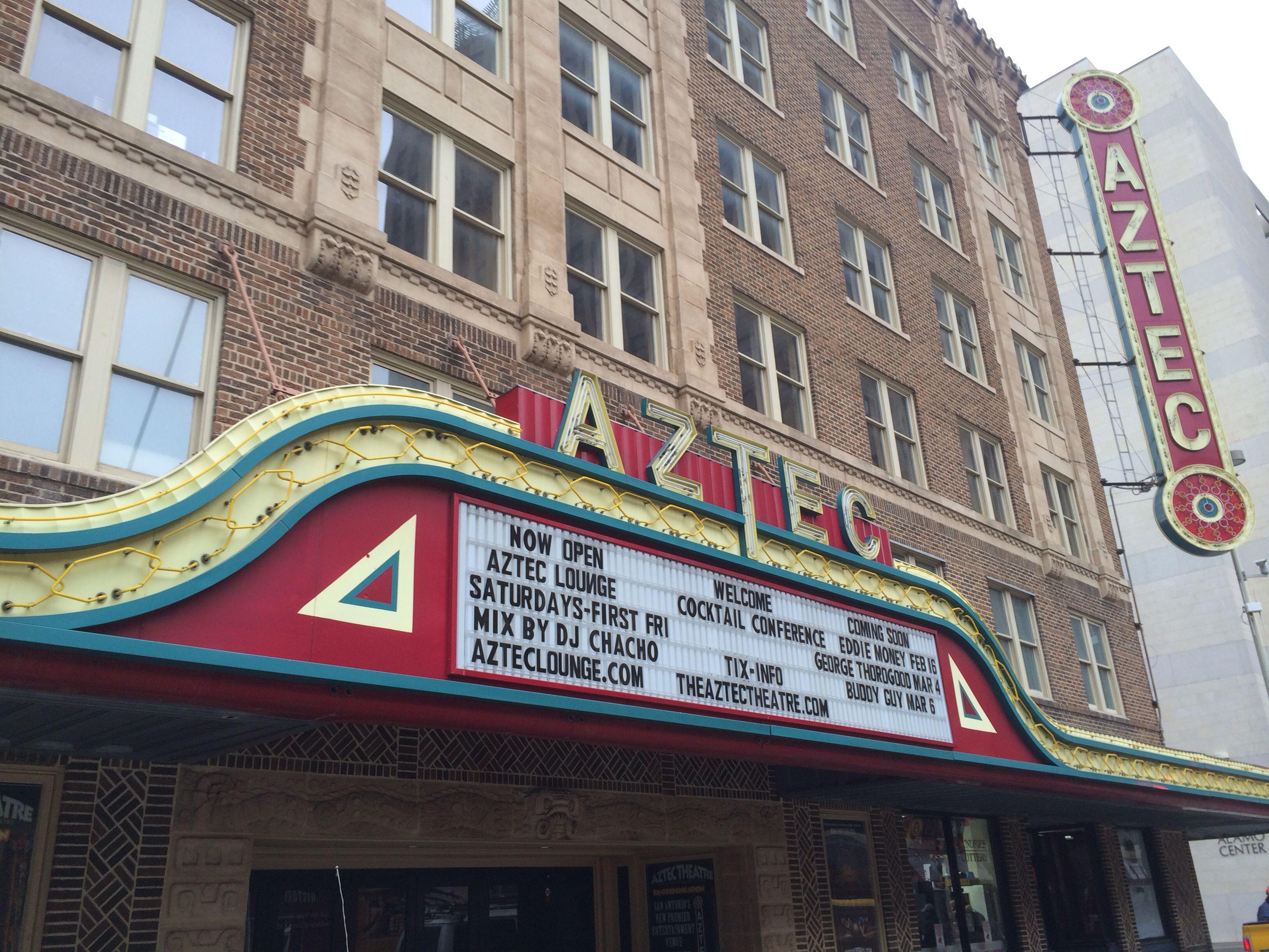 Aztec Theatre San Antonio Pinterest