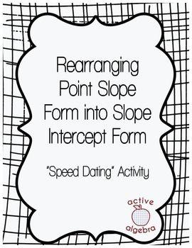 Speed dating scorekort