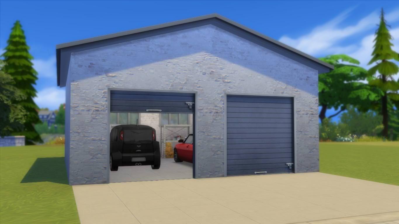 Working Garage Doors For Ts4 Requires City Living By Lexus Studio At Http Sims4studio Com Garage Doors Garage Design Sims 4 Studio