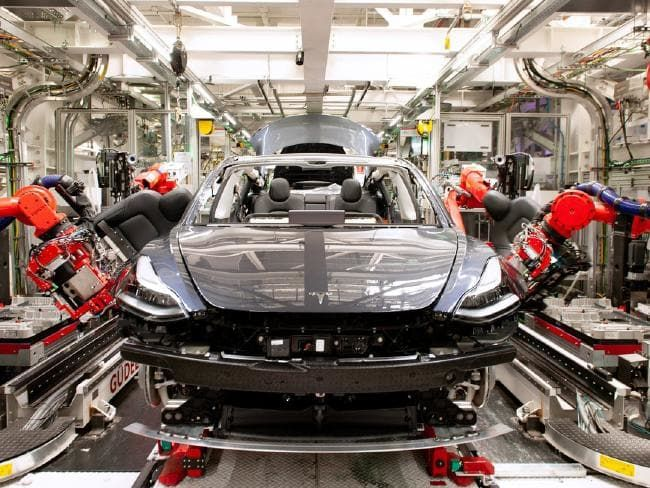 Tesla cars are made in California. The US Government won't ...