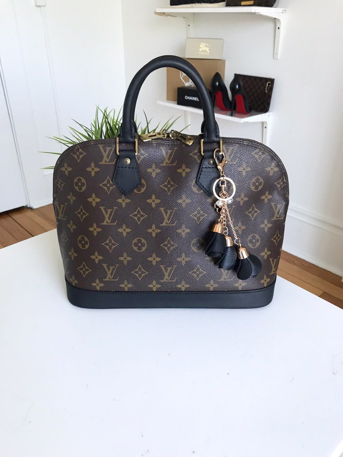 This Authentic Louis Vuitton Alma Pm Bag Has Been Updated By