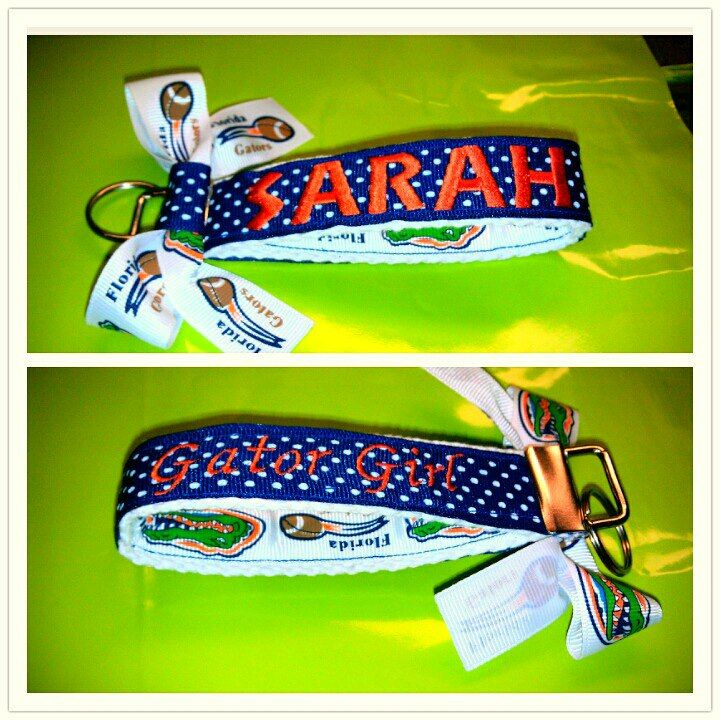 http://www.facebook.com/pages/Nicoles-Nametapes/313420668677330?ref=hl#!/pages/Nicoles-Nametapes/313420668677330 #gator girl #gator #keychain