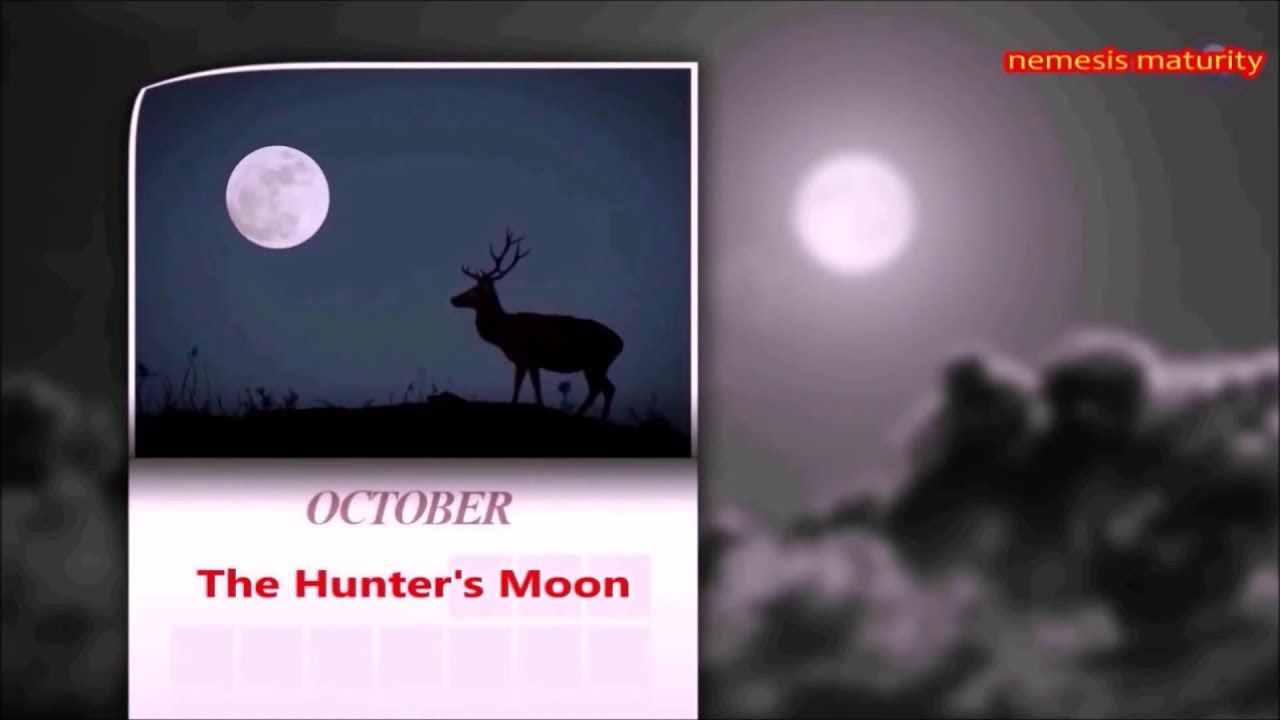 Hunters full moon rising step outside and enjoy the