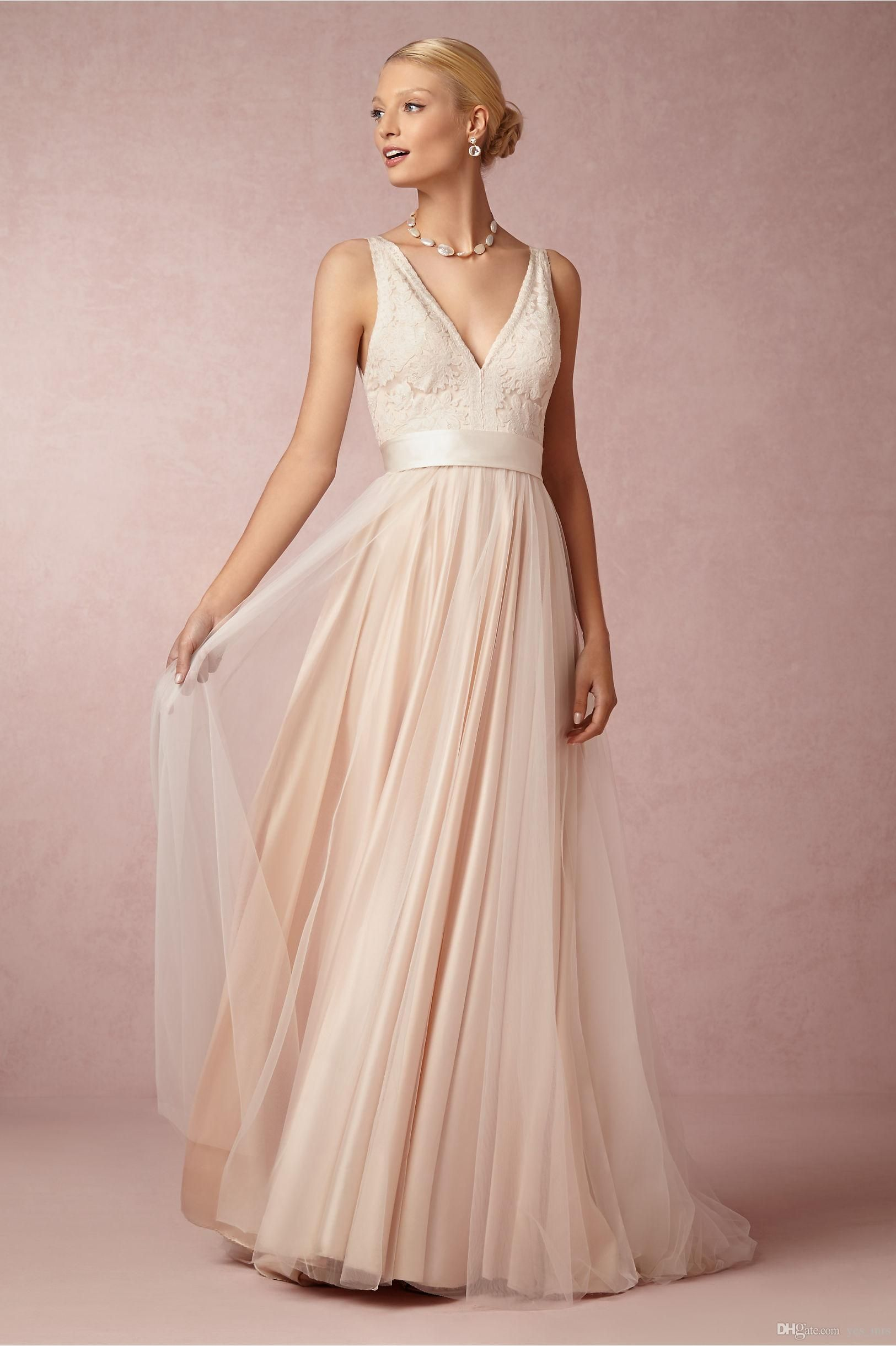 Bridesmaid dresses 2016 new romantic lace v neck for wedding tulle bridesmaid dresses 2016 new romantic lace v neck for wedding tulle sweep train long with sashes party dress plus size prom gowns under 100 ombrellifo Choice Image