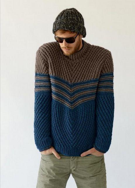 HECHO para cuello redondo lana suéter cuello alto hombres  1b94e845c9a3