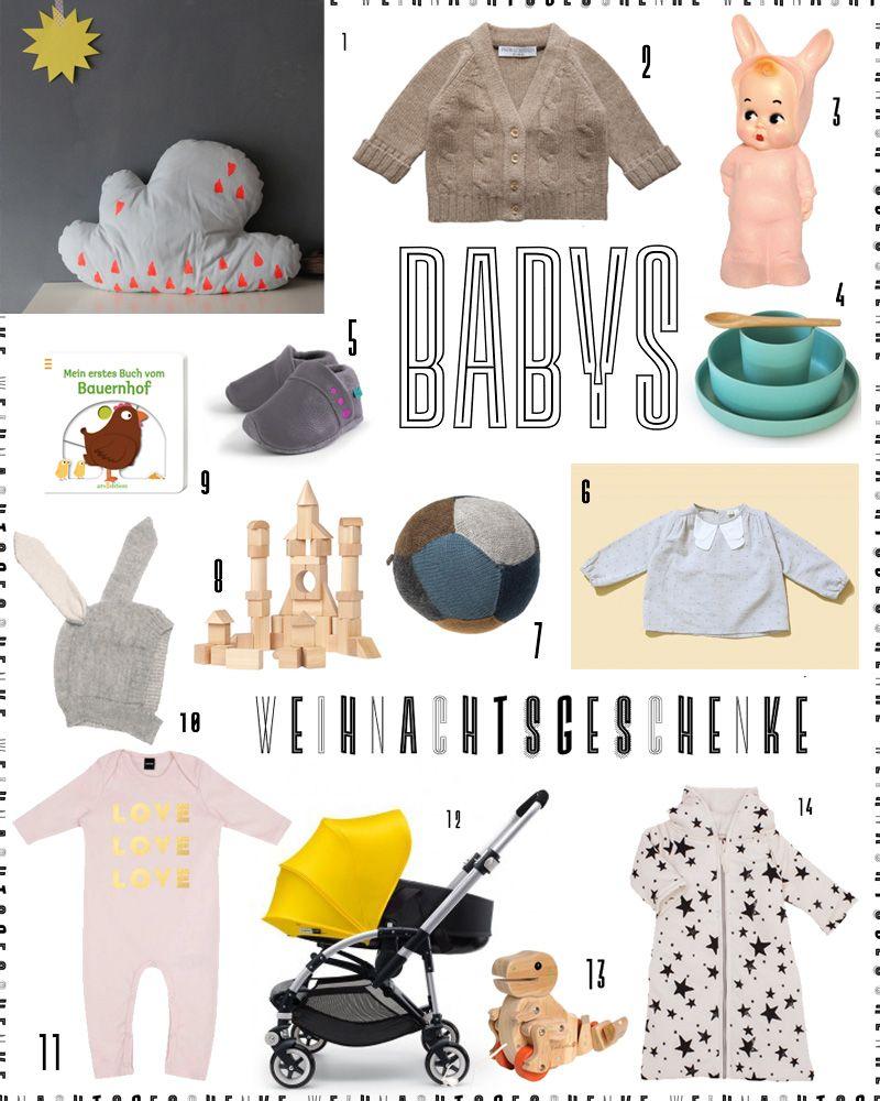 Weihnachtsgeschenke für Babys   Für die Kleinen // For the youngest ...