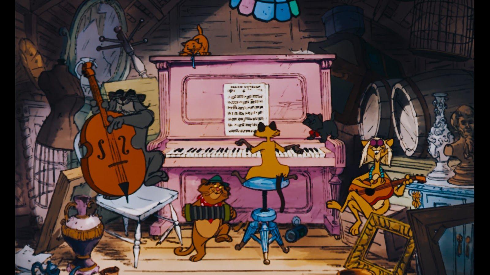 Alley Cats Aristocats, Disney pixar movies, Disney movies