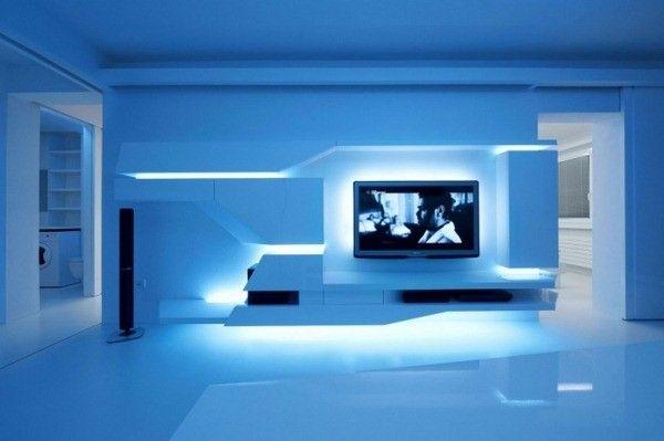 Déco chambre futuriste