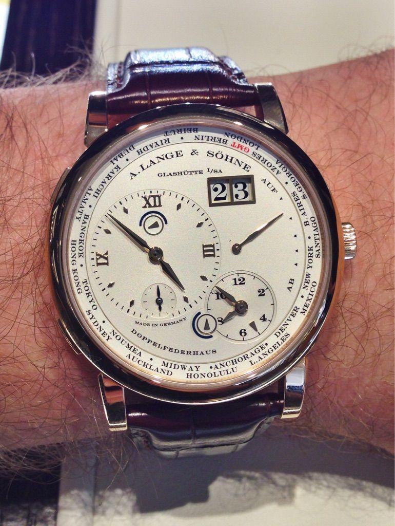 Lange 1 Timezone - A. Lange & Söhne   Jaeger watch