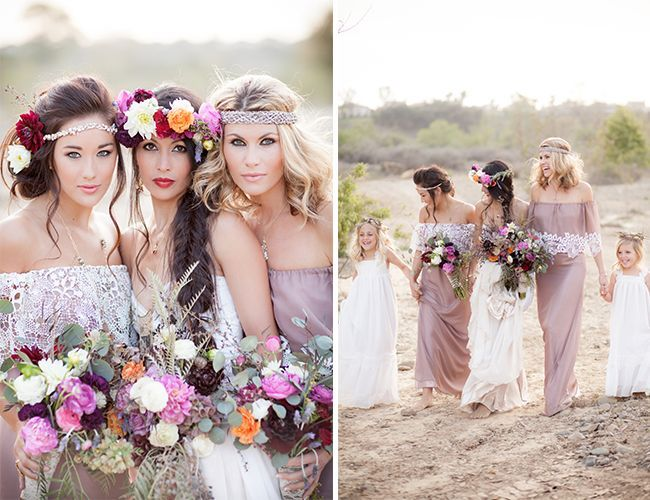 Rustic Bohemian Wedding Ideas