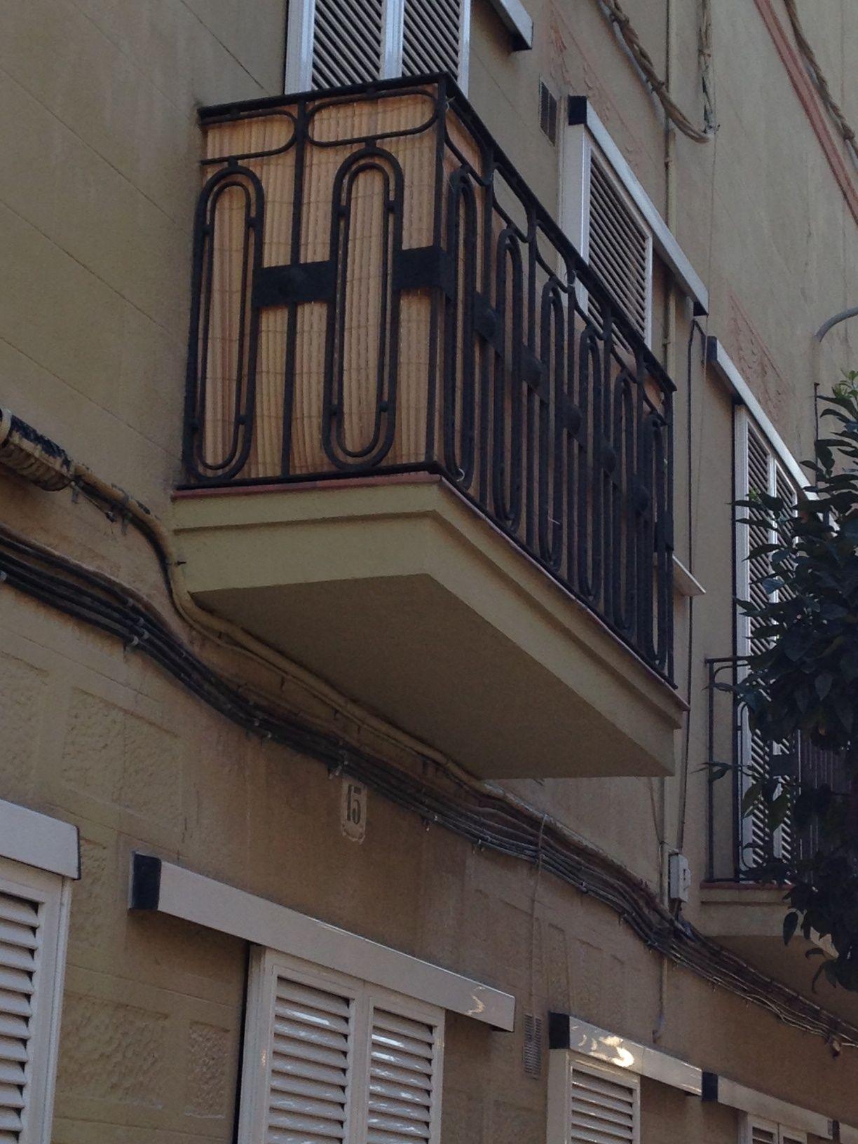 La fuerza de los balcones