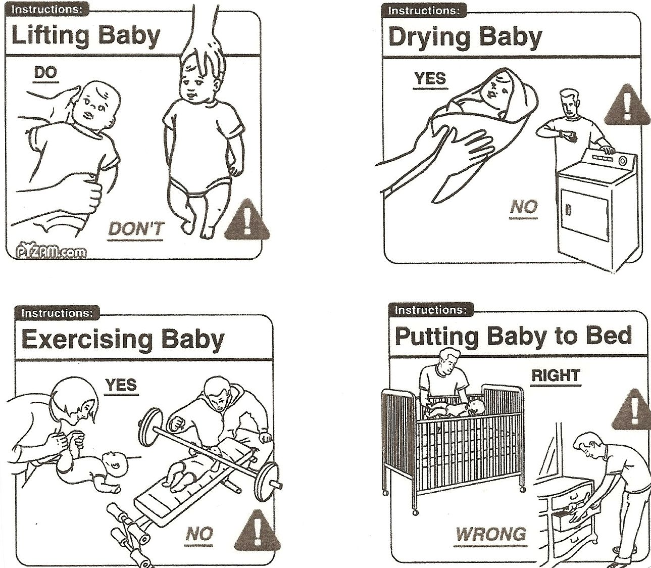 Basic baby care haha (pyzam.com)