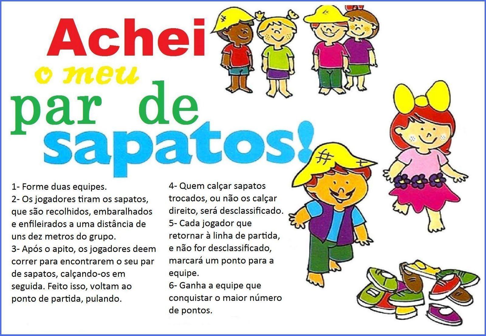 Muitas vezes 12 Brincadeiras para festa junina - Pra Gente Miúda | maternal  ST14