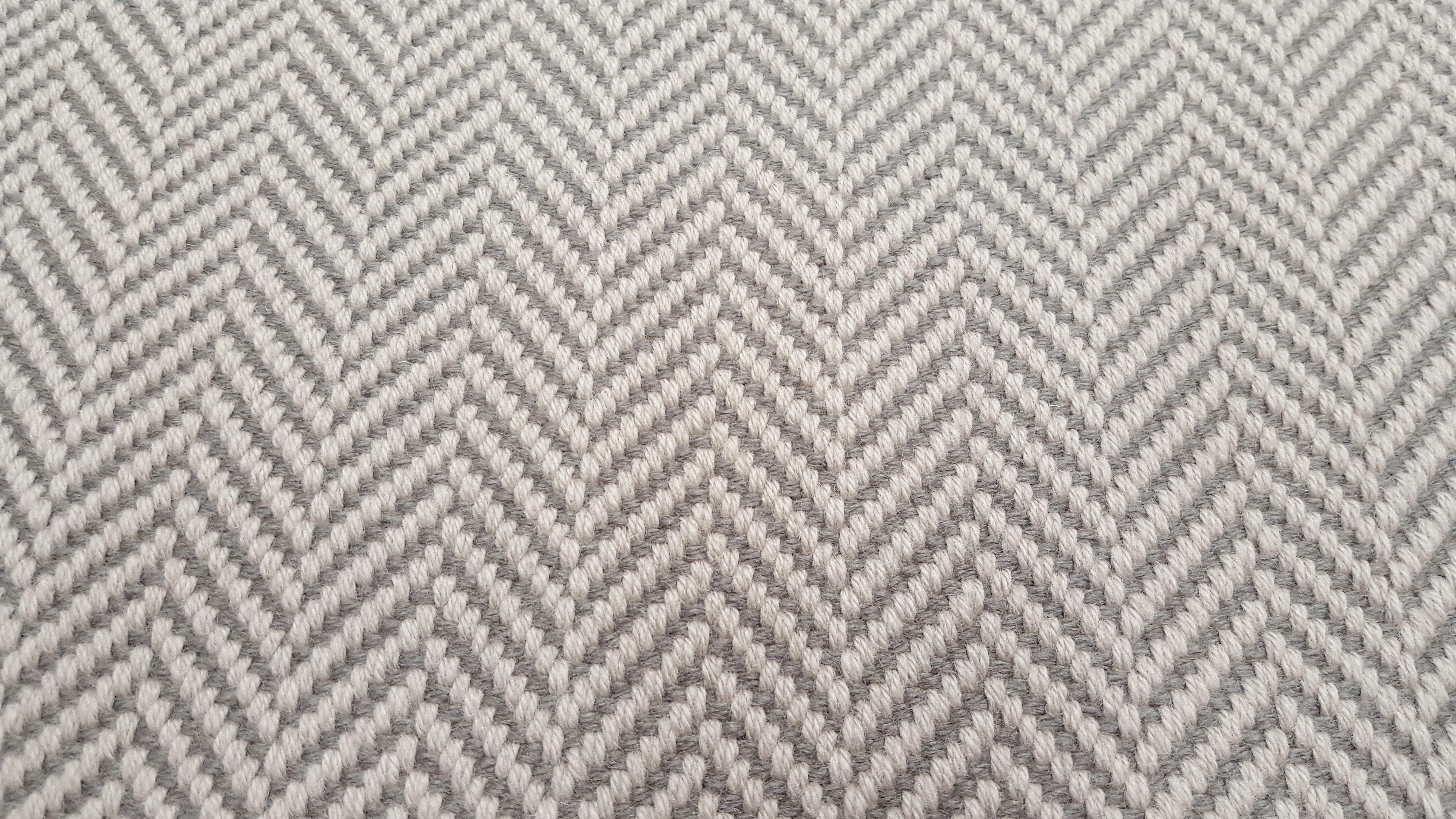 Soft And Subtle Hartley Tissier S Herringbone Light Grey Stair