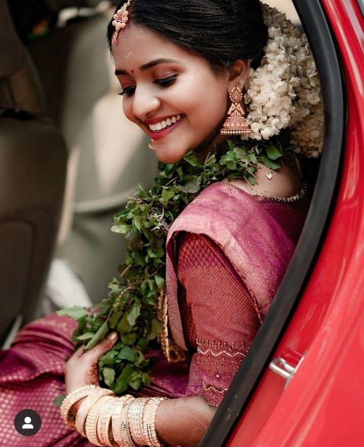 Easy Ladies Hairstyles In Kerala: Pin By Aswany Mohan On Bridal Look In 2020