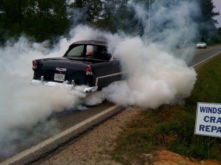 Smoke Em If U Got Em 55 Chevy Classic Racing Chevy