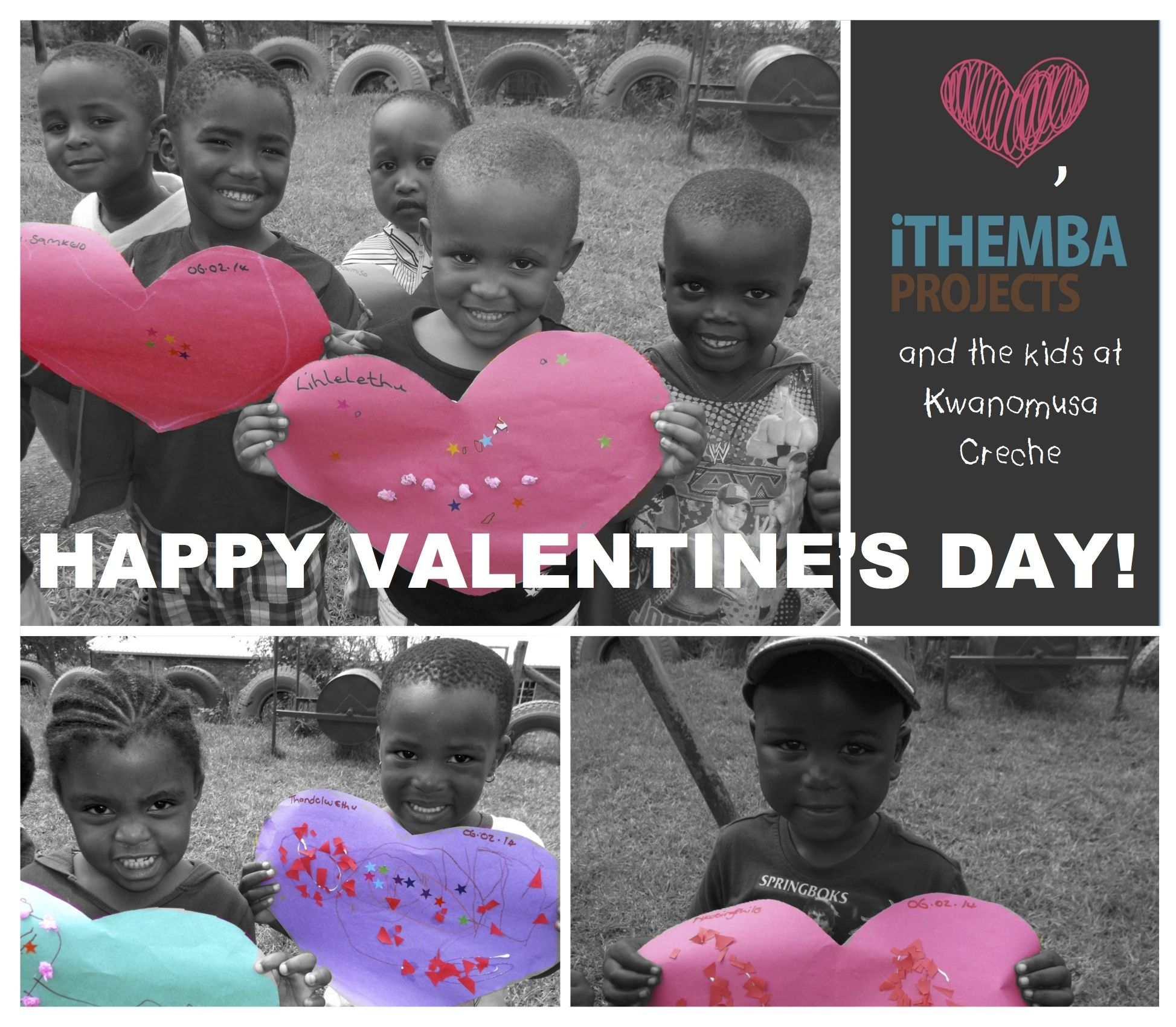 #ValentinesDay message from the kids in Sweetwaters!