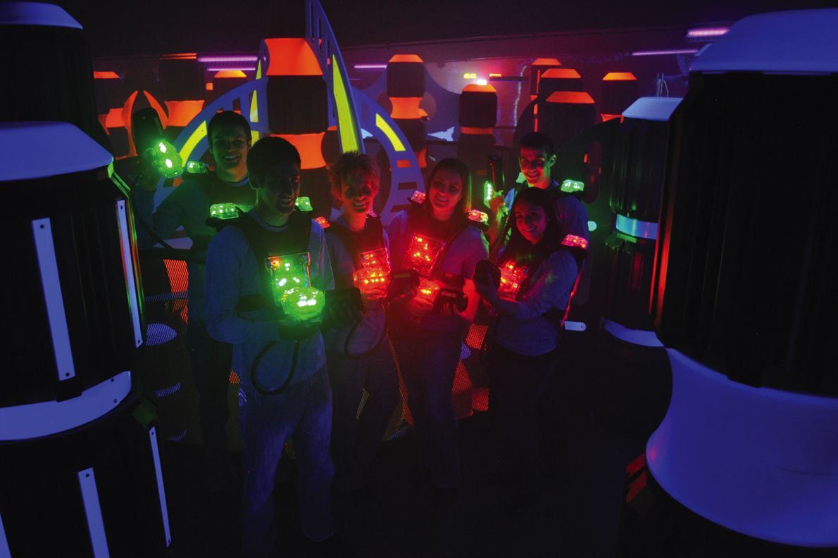 Lasertron Designers Of The Best Indoor Laser Tag