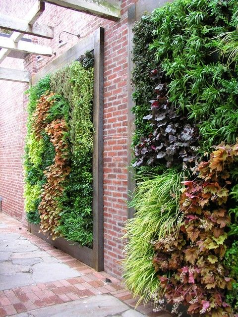 20 excellent diy examples how to make lovely vertical garden - Garden Wall
