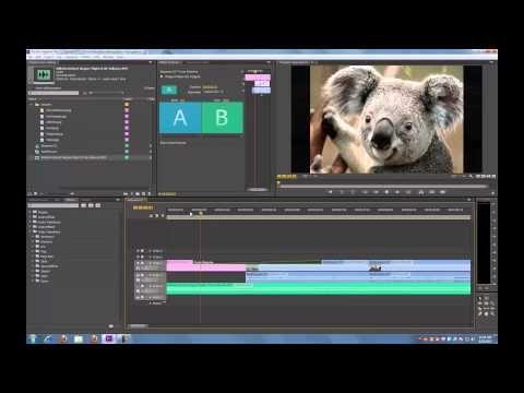 Adobe Premiere Pro Cs6 Tutorial Basic Editing Youtube Basic
