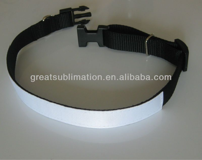 Blank Sublimation Dog Collars