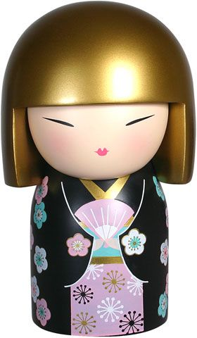 """Kimmidoll™ Hasumi - 'Graceful' - """"My spirit is poised and dignified. By approaching life with dignity and poise you reveal my spirit. May your graceful ways bring a sense of calm serenity to even the most challenging circumstances."""""""