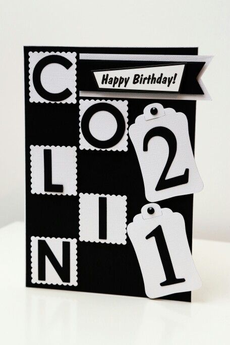 Black and white 21st birthday card dont think you can really go black and white 21st birthday card dont think you can really go wrong bookmarktalkfo Gallery
