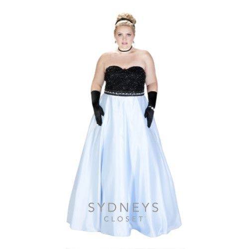 Lovely Sydneyu0027s Closet SC7207 | Plus Size Prom 2018 | Pinterest | Military Ball,  Prom And Formal