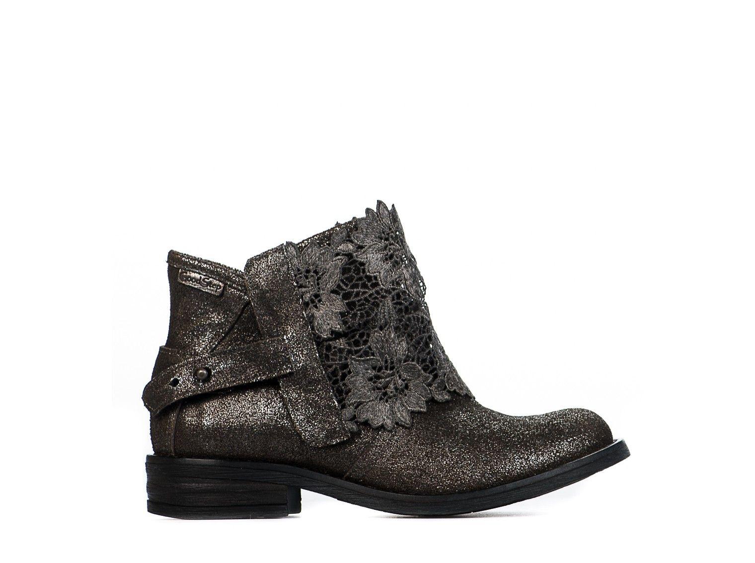 5ee1dac04c9c5 Chaussures GOODSTEP gris argent 58353 pour femme - Millim