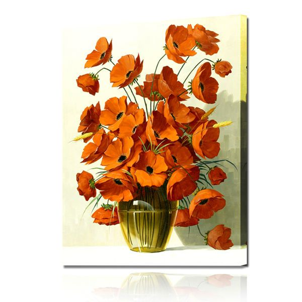 Lukisan Bunga 3d Penelusuran Google Flower Painting Painting Flower Canvas
