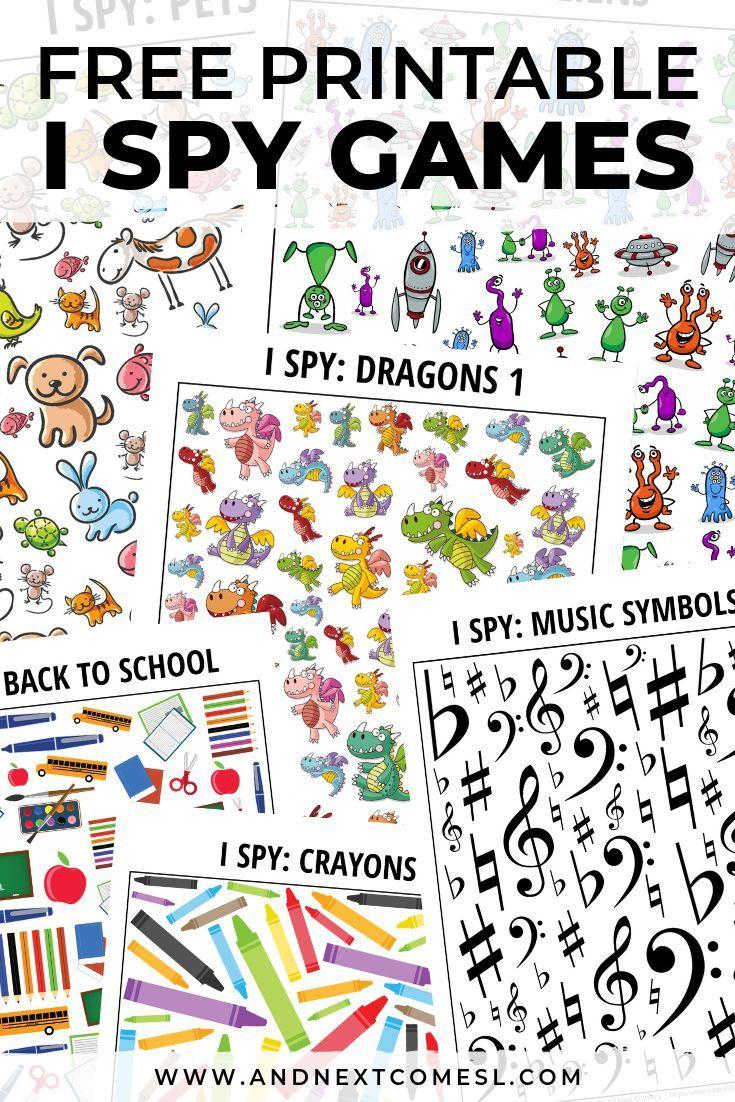 100 Awesome Printable I Spy Games For Kids Spy Games For Kids Spy Games Printable Activities For Kids [ 1102 x 735 Pixel ]