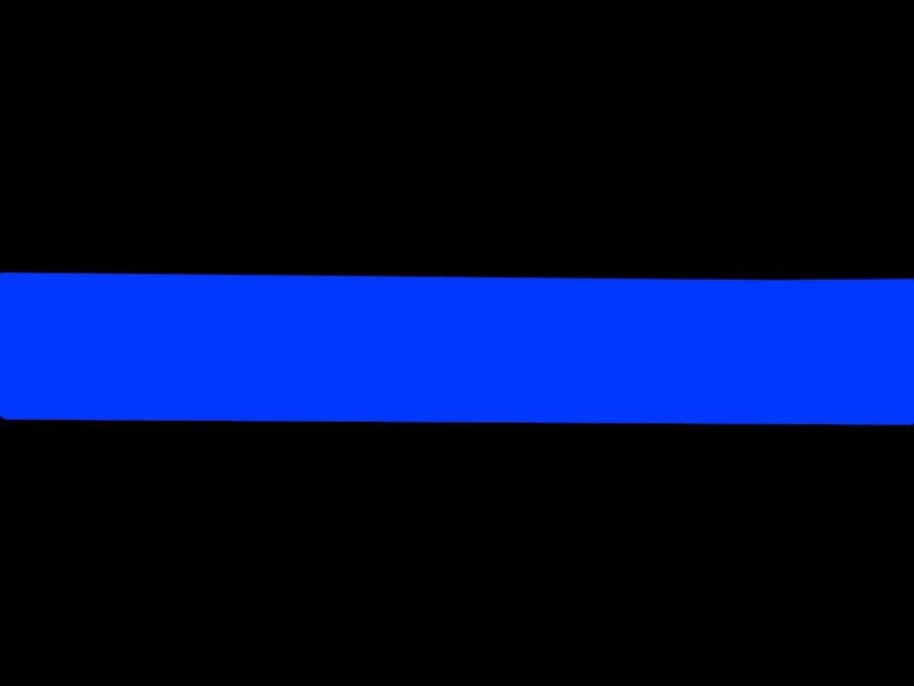 The Thin Blue Line is a symbol to show support for law ...