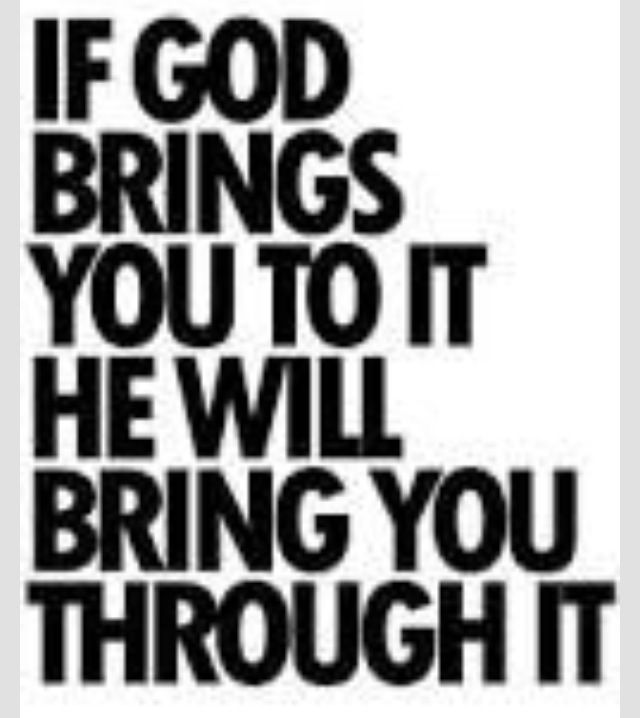 God will always be there