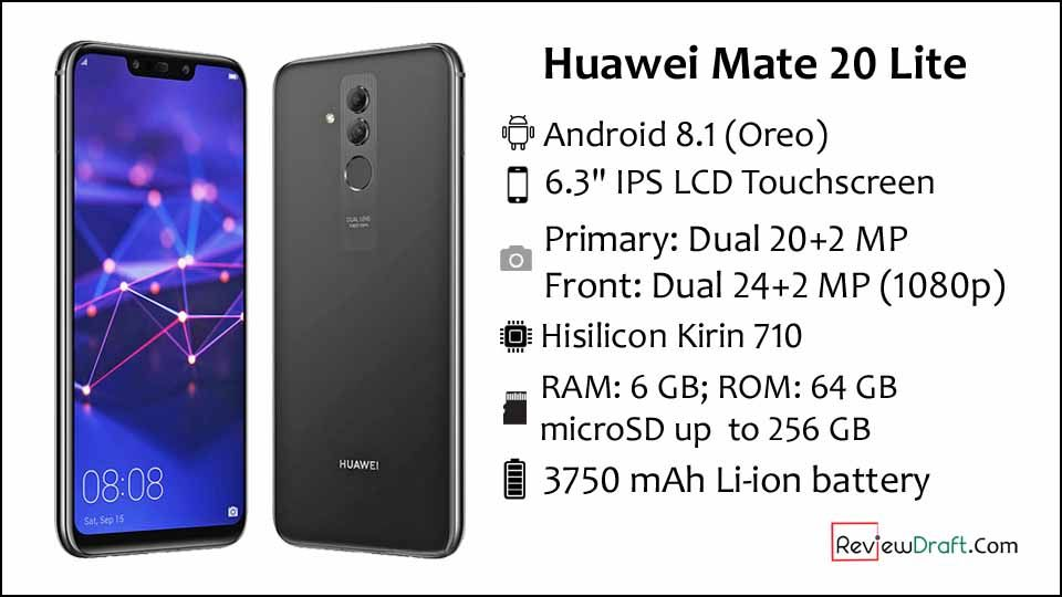 Huawei Mate 20 Lite Price in Bangladesh, Full Specification