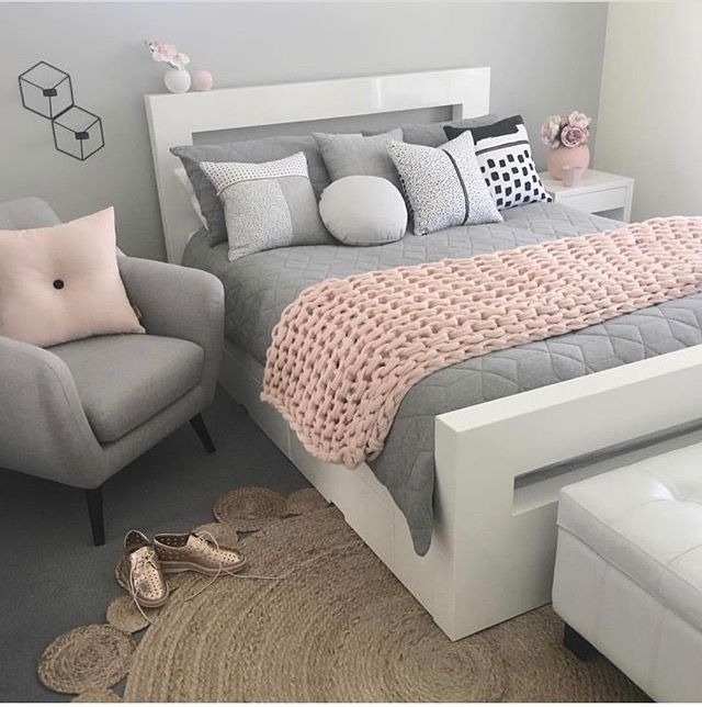 Grey And Pastel Pink Bedroom Small Bedroom Decor Silver Bedroom Girl Bedroom Designs