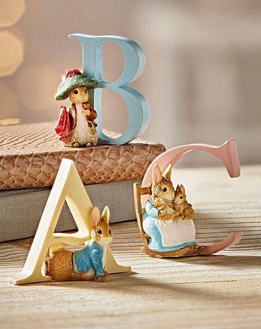 Beatrix Potter Alphabet Figures | The Brilliant Gift Shop