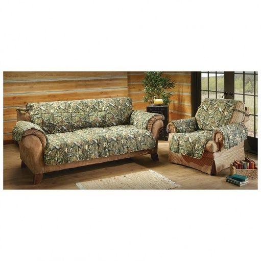 Camouflage Sofa Slipcover