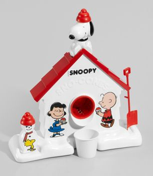 Snoopy Sno-cone Machine. Remember how you flavored the ice with Kool-Aid packets?