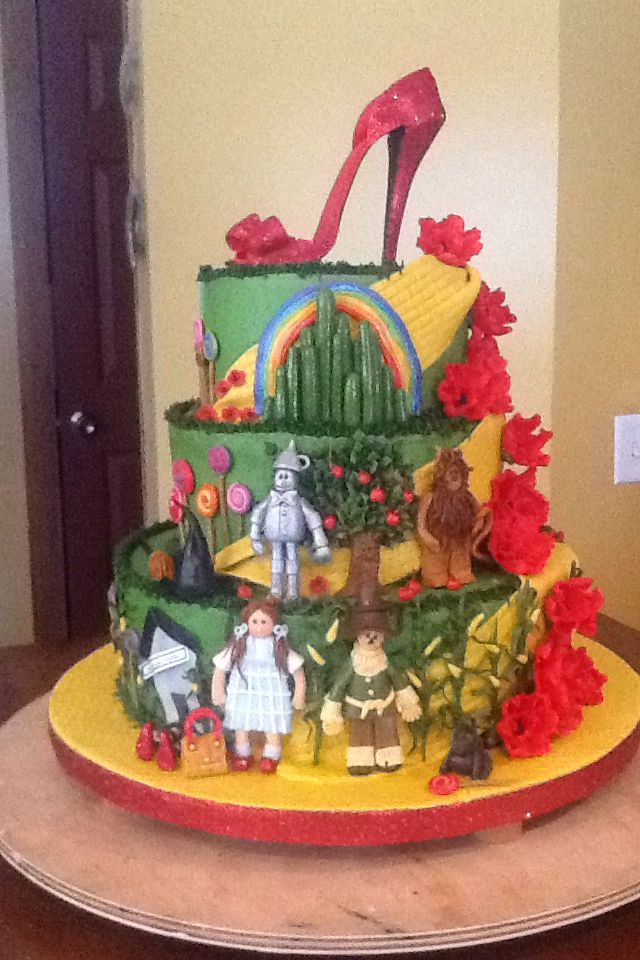 Wizard Of Oz Cake Cakes Cake Character Cakes Wizard
