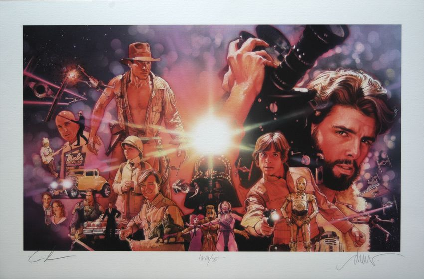 Www Drewstruzan Com George Lucas Indiana Jones Lucas Movie