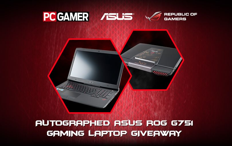 Asus rog laptop giveaway