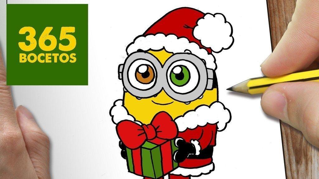 Dibujos De Navidad Kawaii Para Colorear Dibujos Kawaii Dibujos