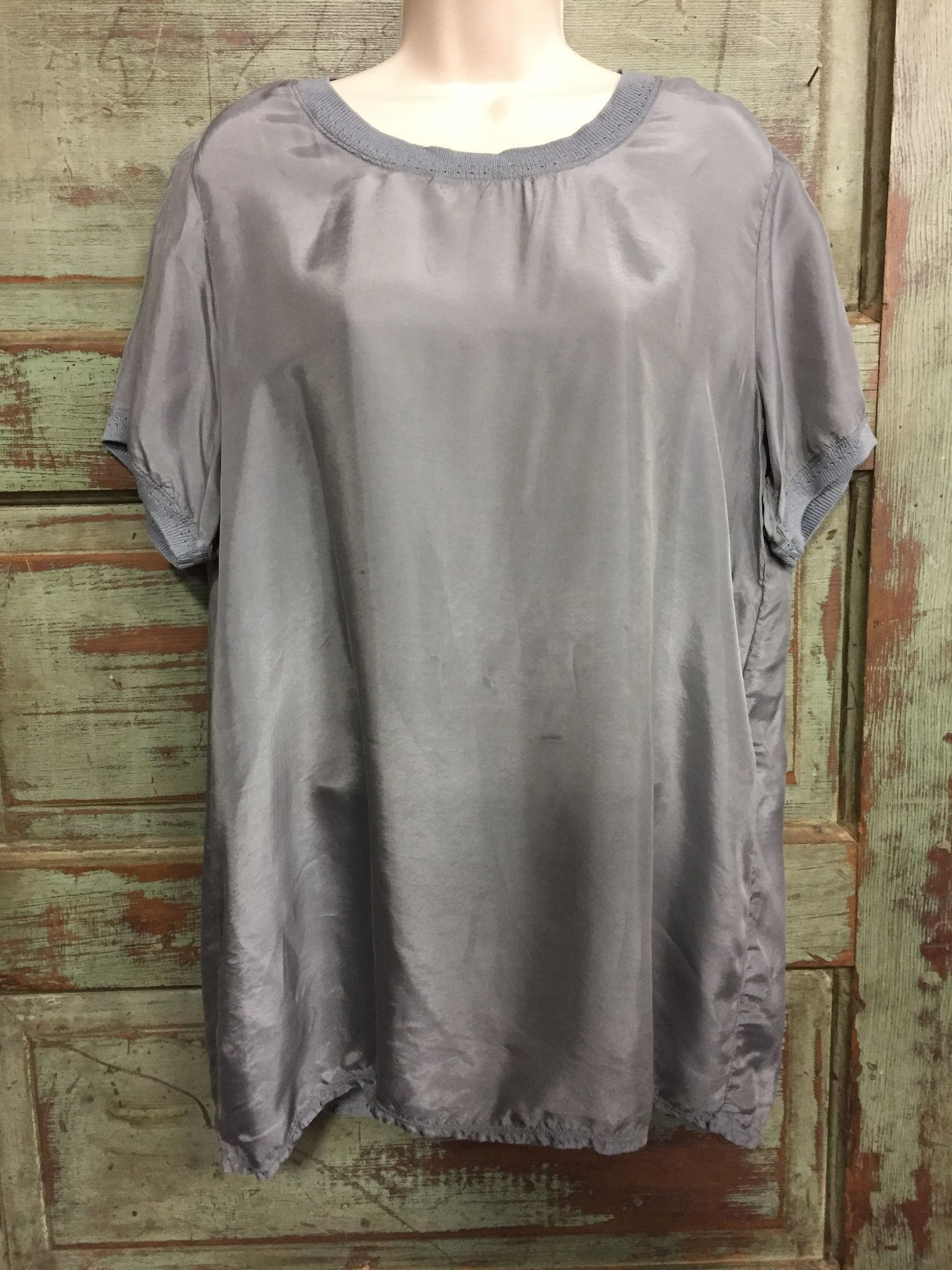 Grey Felixia T-Shirt From Pete & Greta by Johnny Was