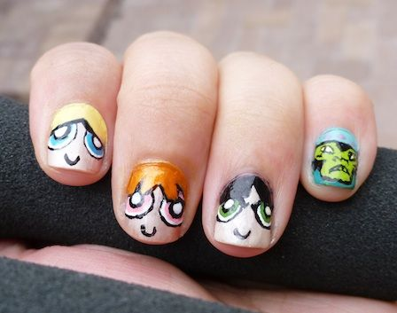 10 Cute Cartoon Inspired Nail Art Ideas For The Kid In All Of Us