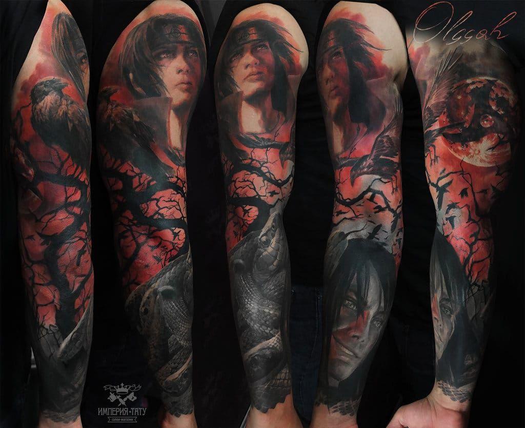 27 Naruto Tattoos To Literally Die For Naruto Tattoo Anime Tattoos Best Sleeve Tattoos